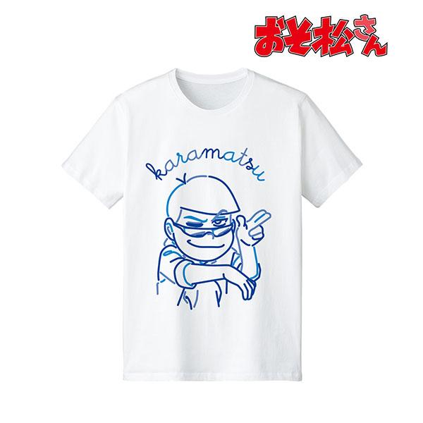 おそ松さん カラ松 ラインアート Tシャツ レディース L[アルマビアンカ]《在庫切れ》:あみあみ 店