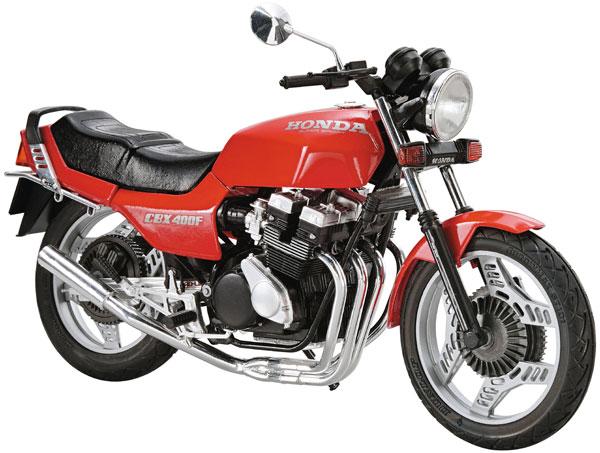 ザ バイク No.48 1 12 上質 ホンダ 低廉 NC07 CBX400F モンツァレッド '81 アオシマ プラモデル カスタムパーツ付き 《発売済 在庫品》