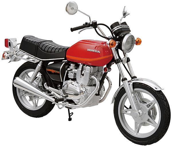 ザ・バイク No.35 1/12 ホンダ CB400T HAWK-II '78 プラモデル[アオシマ]《発売済・在庫品》