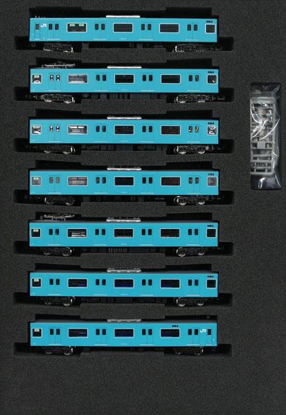 30991 JR201系 体質改善車?京阪神緩行線 7両編成セット(動力付き)[グリーンマックス]【送料無料】《発売済?在庫品》