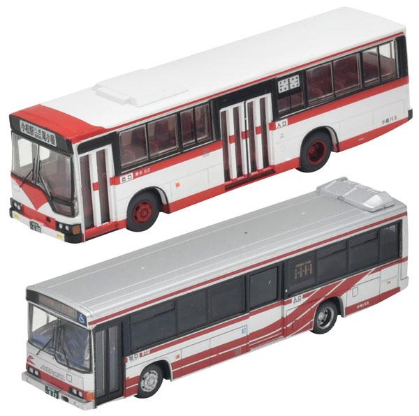 ザ 2020A W新作送料無料 バスコレクション 北鉄グループ統合記念 《11月予約》 トミーテック ありがとう小松バス2台セット 上等