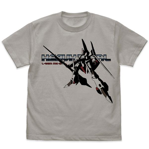 重戦機エルガイム エルガイム Mk-II Tシャツ/LIGHT GRAY-L[コスパ]《11月予約》