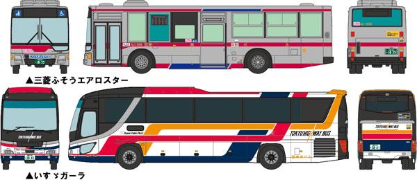 ザ 推奨 バスコレクション 東急バス 創立30周年記念 トミーテック 2台セット 《01月予約》 受賞店