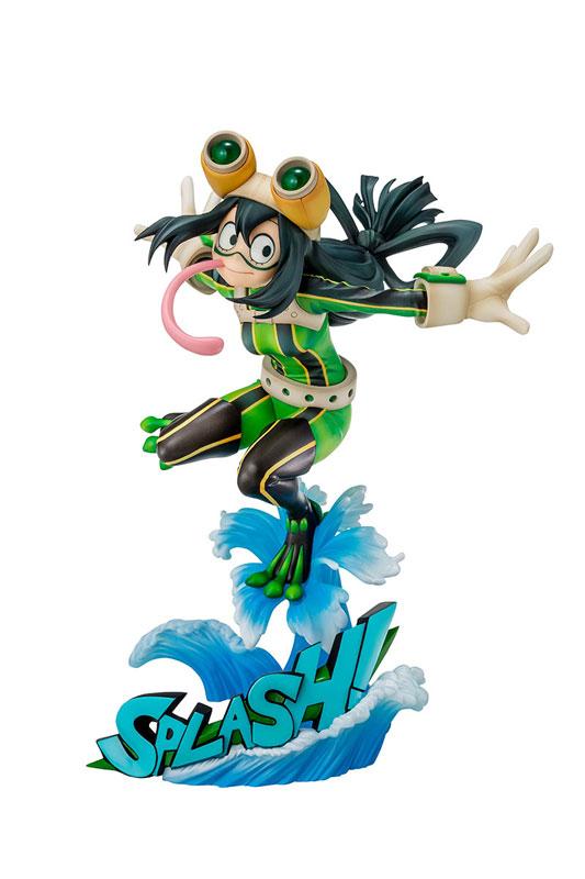 僕のヒーローアカデミア 蛙吹梅雨 ヒーロースーツVer. 1/8 完成品フィギュア(再販)[タカラトミー]《発売済・在庫品》