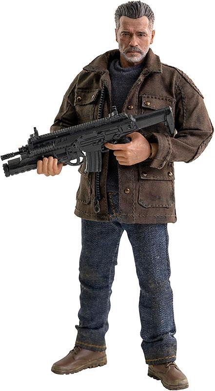 Terminator: Dark Fate (ターミネーター:ニュー・フェイト) T-800 1/12 可動フィギュア[スリー・ゼロ]《09月予約》