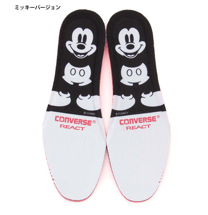 Higher frequency elimination sneakers constant seller CONVERSE Converse CHUCK TAYLOR canvas Lady's Disney Disney Mickey Mickey mini minnie of the 100th anniversary of ALL STAR 100 MICKEY MOUSE PT HI all-stars 100 Mickey Mouse PT HI