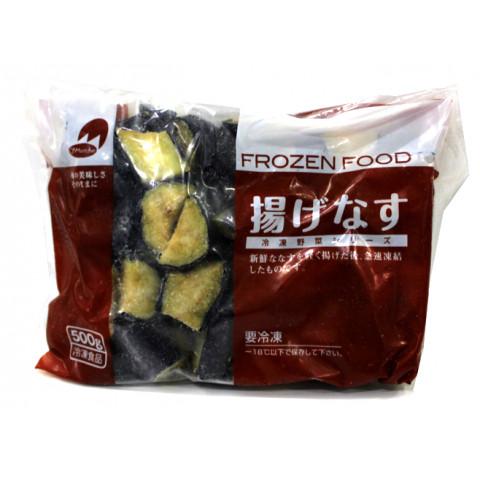 業務用食材 アイテム勢ぞろい 冷凍商品 冷凍野菜 冷凍果実 揚げなす OM 最安値 500g