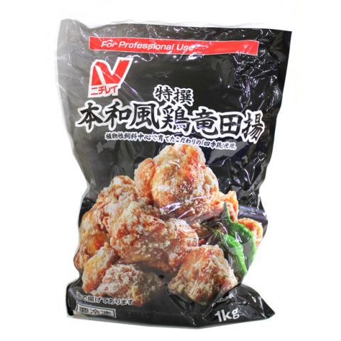 業務用食材 冷凍商品 畜産フライ 唐揚げ 鶏肉類 1kg 本和風鶏竜田揚 通販 希少 ニチレイ 特撰
