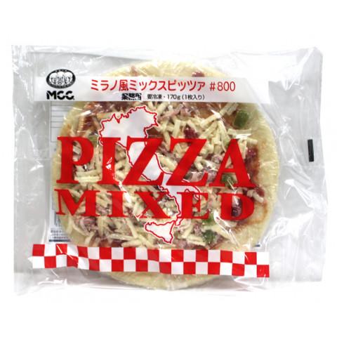 業務用食材 激安卸販売新品 冷凍商品 メーカー直送 ピザ ナン ミラノ風ミックスピッツア#800 MCC 170g