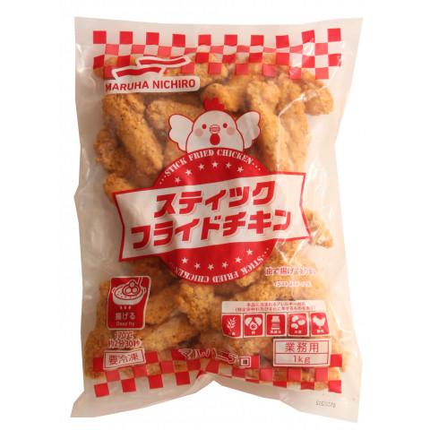 【業務用食材】【冷凍商品】【鶏肉類】 マルハニチロ スティックフライドチキン 1kg