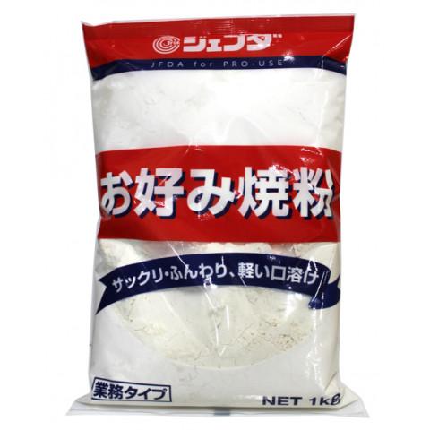 業務用食材 常温商品 お好み焼き粉 JFDA アウトレットセール 安い 激安 プチプラ 高品質 特集 1kg ジェフダ お好み焼粉