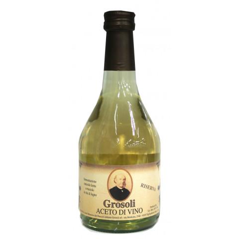 業務用食材 オンラインショップ 超人気 専門店 常温商品 ワインビネガー Aグロソリ ワインビネガー白 リゼルヴァ 500ml