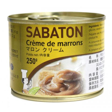 期間限定今なら送料無料 業務用食材 常温商品 製菓材料 サバトン 売れ筋 250g マロンクリーム