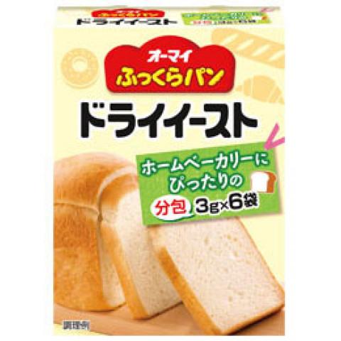 業務用食材 常温商品 イースト ふくらし粉 贈与 SALENEW大人気 ドライイースト 日本製粉 3g×6 ふっくらパン