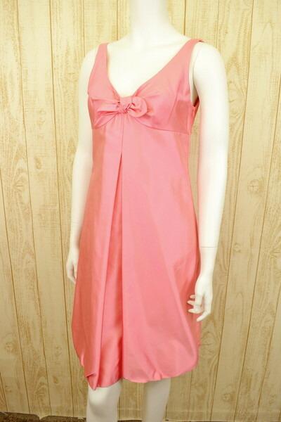 新品 ポールカ PAULE KA光沢シルクワンピースドレス40 LOP508 ポールカ PAULE KA ワンピースドレス 40(L) シルク素材のワンピースドレス ポールカのワンピースドレス ポールカ 新品