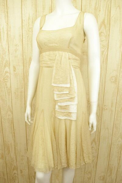 送料無料 新品 ポールカ PAULE KAシルクワンピースドレス36  LOP525 ポールカ PAULE KA ワンピースドレス 36(S) シルク素材のワンピースドレス ポールカのワンピースドレス ポールカ 新品