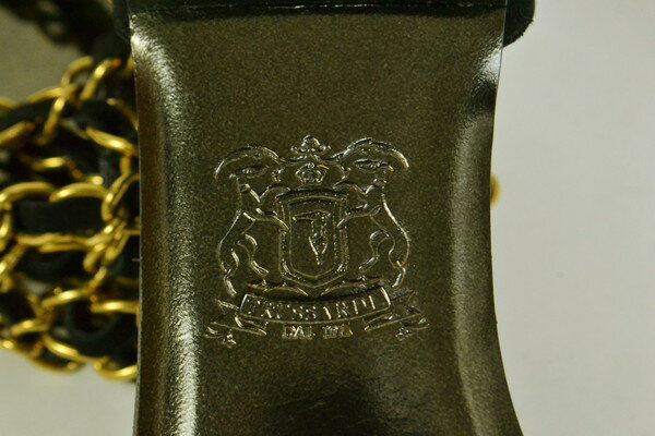 90%OFF 新品 トラサルディ TRUSSARDI 春夏チェーンストラップサンダル8 LS165 8(24.5cm) 新品正規品イタリア製トラサルディのイタリア製ストラップサンダル