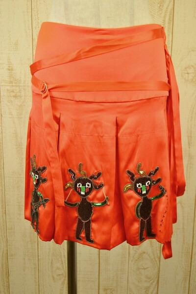 格安店 リッチモンド RICHMOND スカート S イタリア製 シルク 正規品 新品 RICHMONDスカート イタリア製シルクスカート38 リッチモンドのスカート LSK738 38 お洒落 イタリア製のシルクスカート