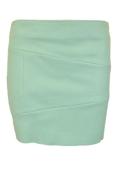 90%OFF 新品 ドローム DROMe 春秋イタリア製革レザースカートS LSK878 新品正規品ドロームのイタリア製レザー素材のミニスカート