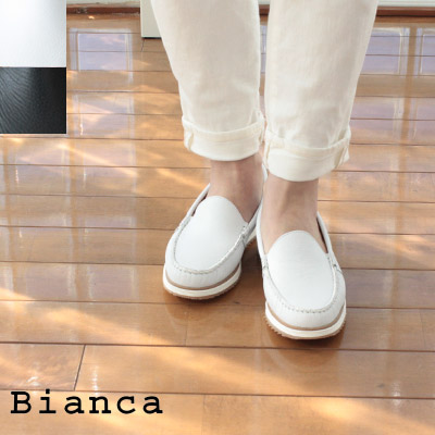 Bianca(ビアンカ)レザー厚底スリッポンシューズ *SM2005302-MA