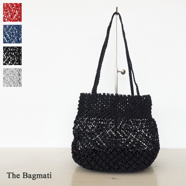The Bagmati (ザバグマティ) マクラメ かごバッグ ザバグマティ 170805