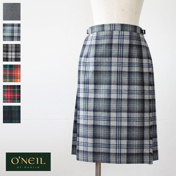O'neil of Dublin オニールオブダブリン キルト プリーツラップ スカート (59cm) EASY KILT 5059