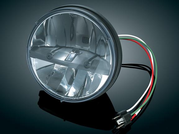 2249kuryakyn クリアキンPHASE 7 LEDヘッドライト 7インチ