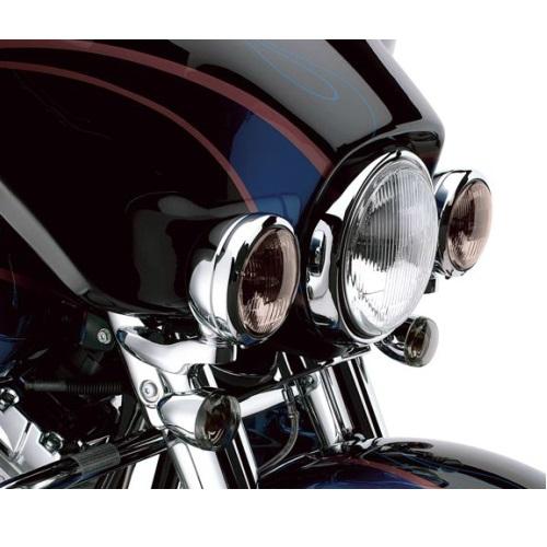 69818-06カスタム・補助ライトブラケットキットクローム FLHX【ハーレー純正カスタムパーツ】