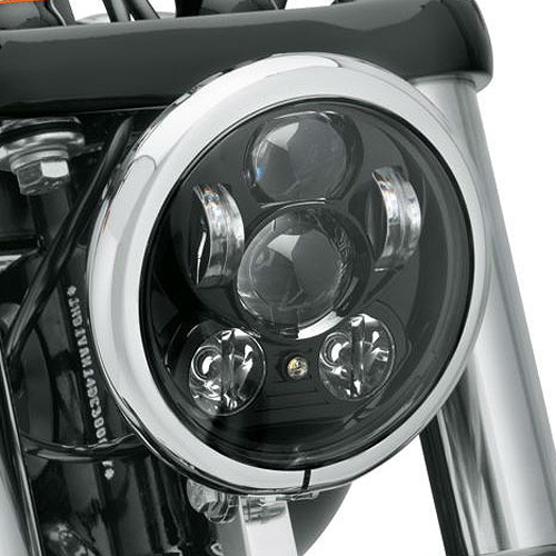 67700145A5-3/4インチデーメーカーLEDヘッドライトブラック【ハーレー純正カスタムパーツ】