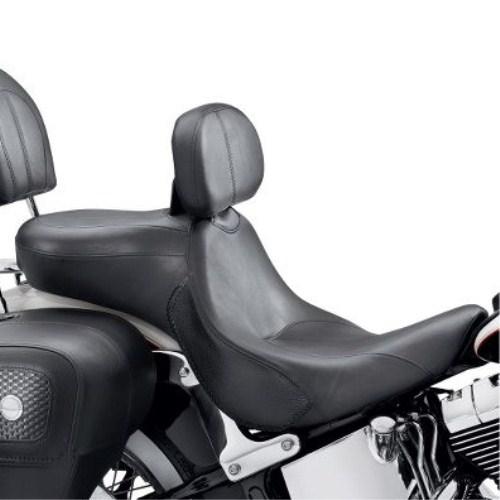 54397-11シグネチュアシリーズシート&ライダーバックレストFLSTCスタイル デラックススタイル
