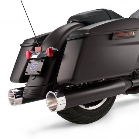 550-0626S&SMk45ジェットブラッククロームトレーサーエンドキャップ