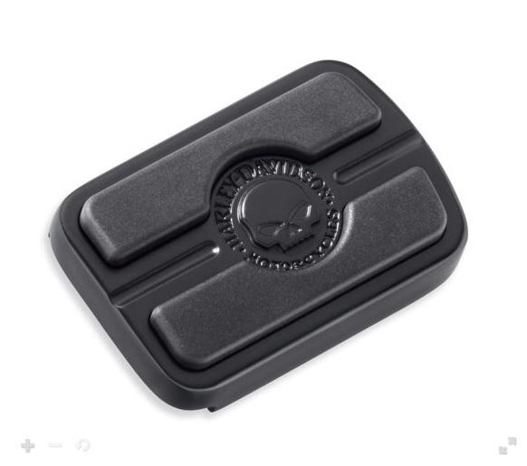 50600344ウィリーGスカル・ブレーキペダルパッド ブラック