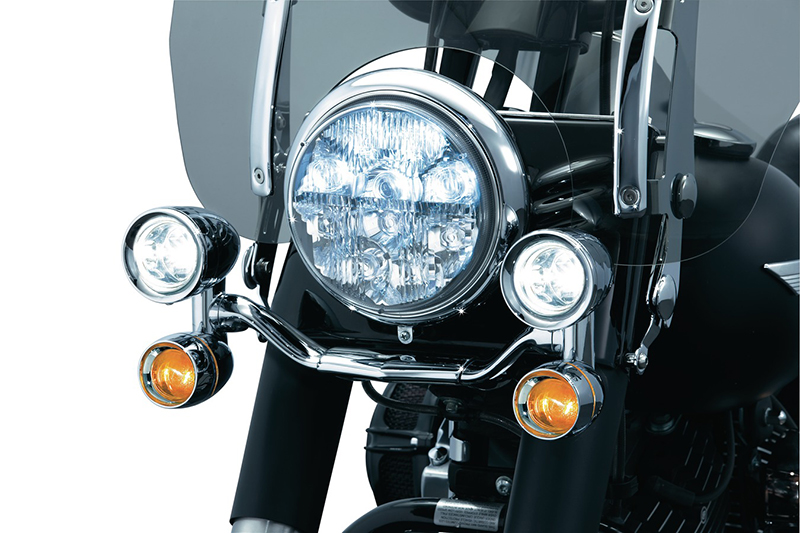 5001kuryakyn クリアキン集合式 ドライビングライトH3 汎用