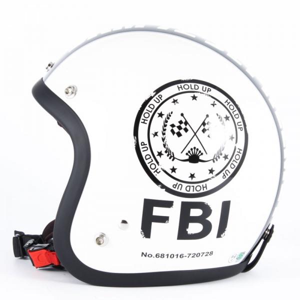 JJ-02☆送料無料!☆ジャムテック 72JAM FBI・WHジェットヘルメット