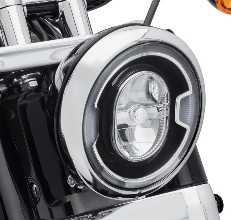 67700354デーメーカーシグネチュアリフレクターLEDヘッドライト 7インチブラック