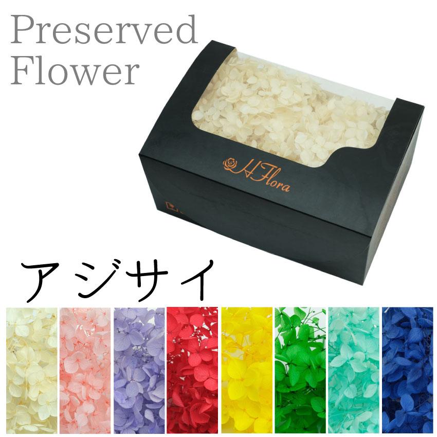 プリザーブドフラワー 花材 花時計 花 造花 値引き ギフト 母の日 Cアジサイ 約20g プレゼント 品質保証