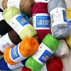 ハマナカ 春夏毛糸 コットンノトック いよいよ人気ブランド 綿100% 合太 卓越 約90m 25g玉巻 全17色 綿