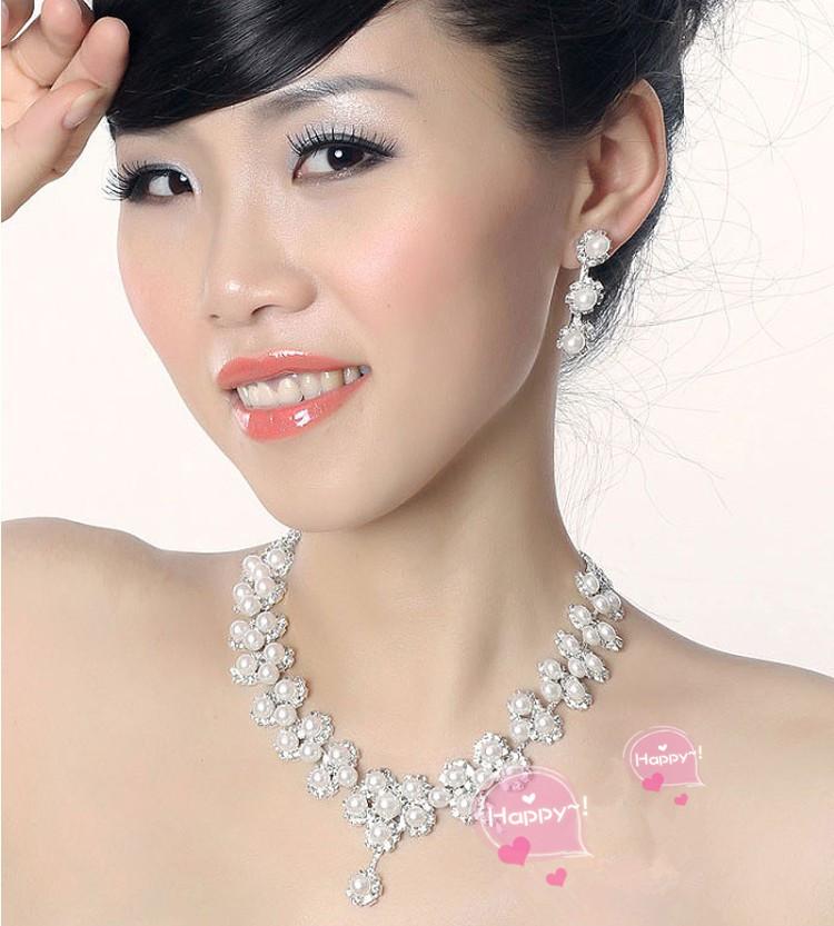 파티 웨딩 결혼식을 위한 완벽 한 액세서리, 화려하 게 연출! ☆ 목걸이 및 귀걸이, 귀걸이 세트 ブライズメイド 10P01Oct16