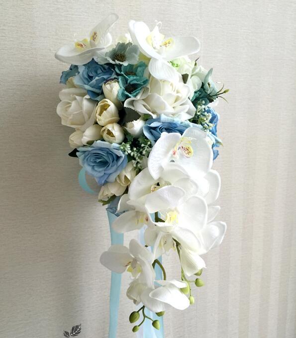 amoll | Rakuten Global Market: A wedding bouquet. Cass cade bouquet ...