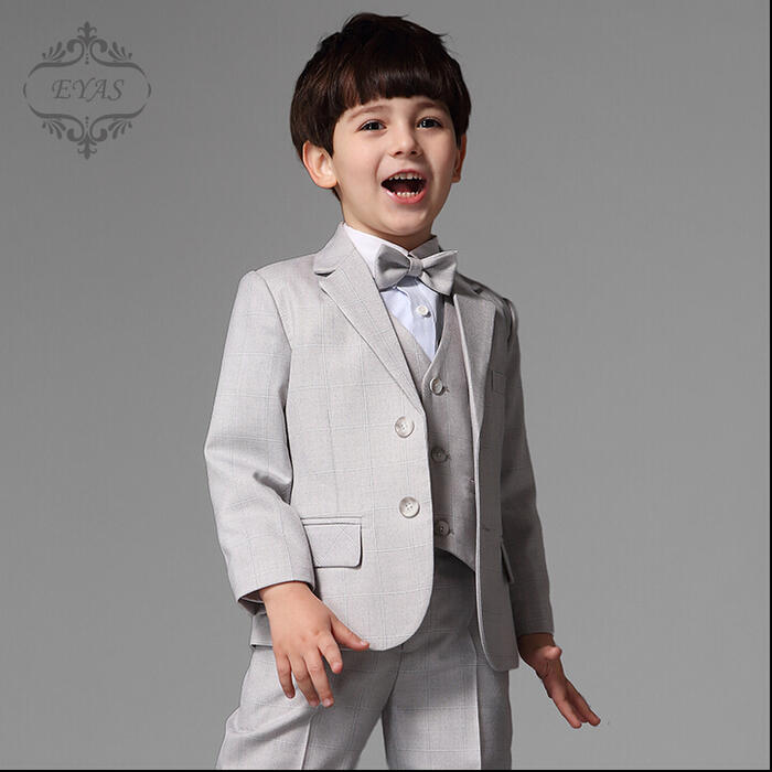 Graduation suit kids clothes boys kids suit formal 120 130 140 150 entrance ceremony for boys, set of 4 kids suit [best pants and BowTie, jacket, bridesmaid 10P01Oct16