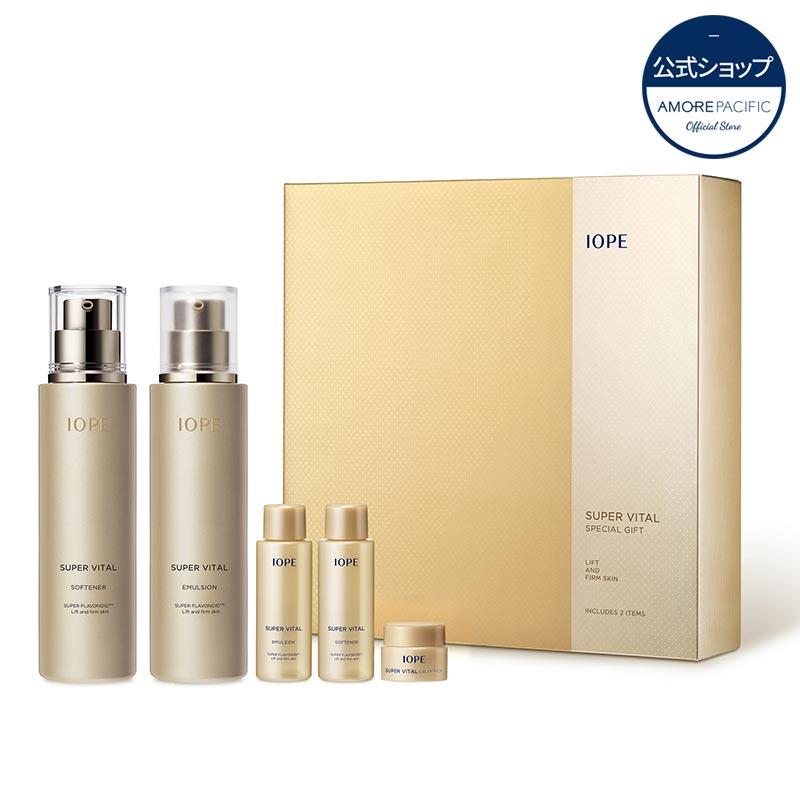 [IOPE/アイオペ] 公式 美肌酵素配合でまるで美容液のような化粧水!スーパーバイタル2種セット