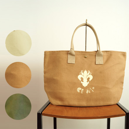 CI-VA Chiba cotton linen canvas bag (large) (ci033) () (Bill delivery free)  women s casual large A4 Green Brown 9cd6d2f626