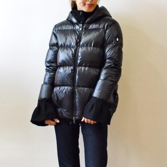 SNOWMAN NEW YORK スノーマン 袖口フレアー ダウンジャケット (sm001)(送料無料)(代引手数料無料)ショートダウンコート 軽量