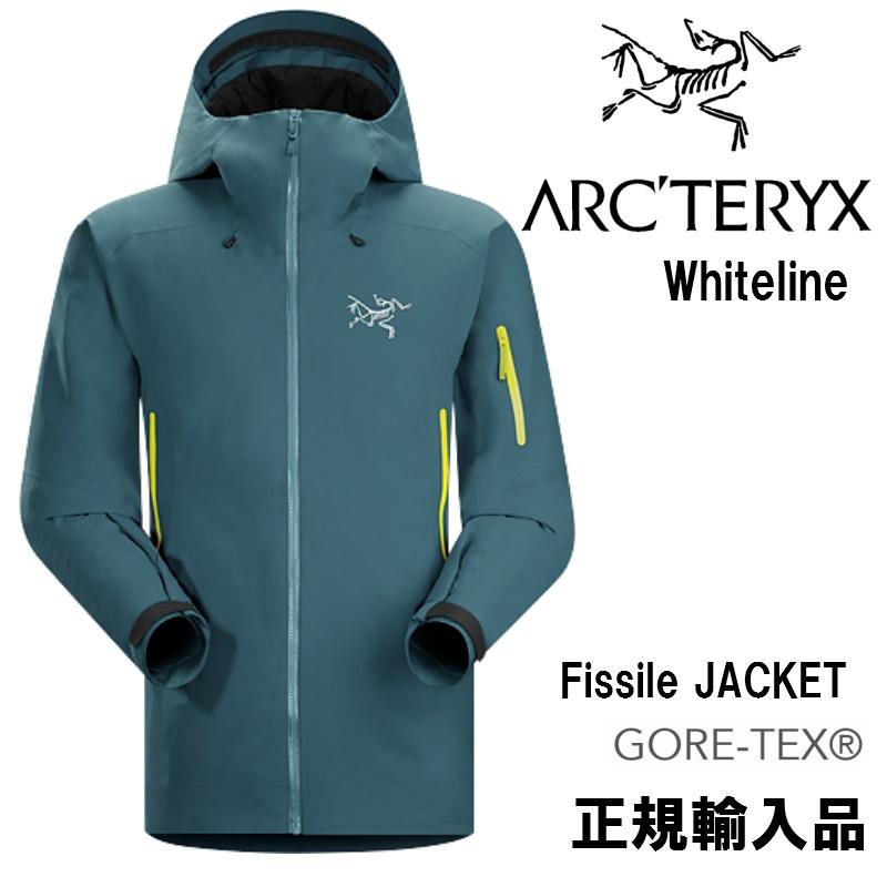 【arc'teryx】アークテリクス WHITELINE ホワイトライン FISSILE JACKET Hinto スキー/スノボ/スノーボード/ジャケット/ゴアテックス/ダウン/