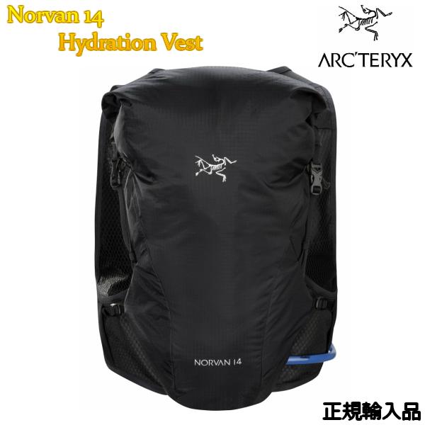 ARC'TERYX アークテリクス Norvan 14 Hydration Vest Black ビジネスバック 正規輸入品 バックパック ハイドレーション付 L07008700