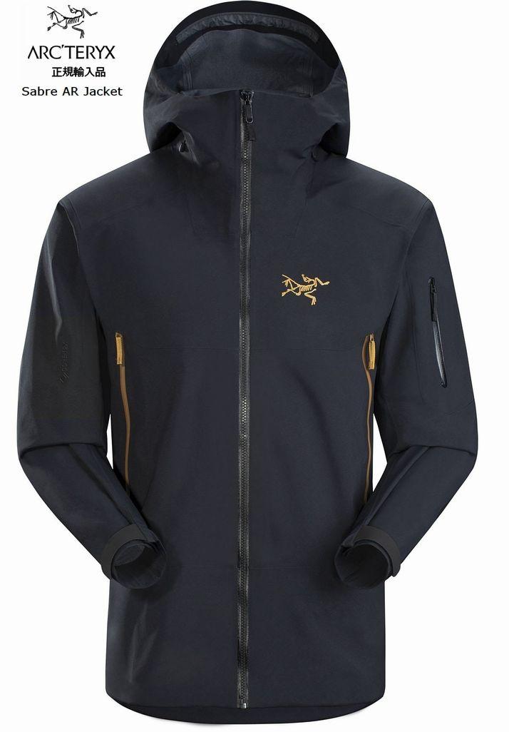アークテリクス ARCTERYX WHITELINE ホワイトライン Sabre AR Jacket Mens 24K Black スキー スノボ スノーボード シェルジャケット ゴアテックス
