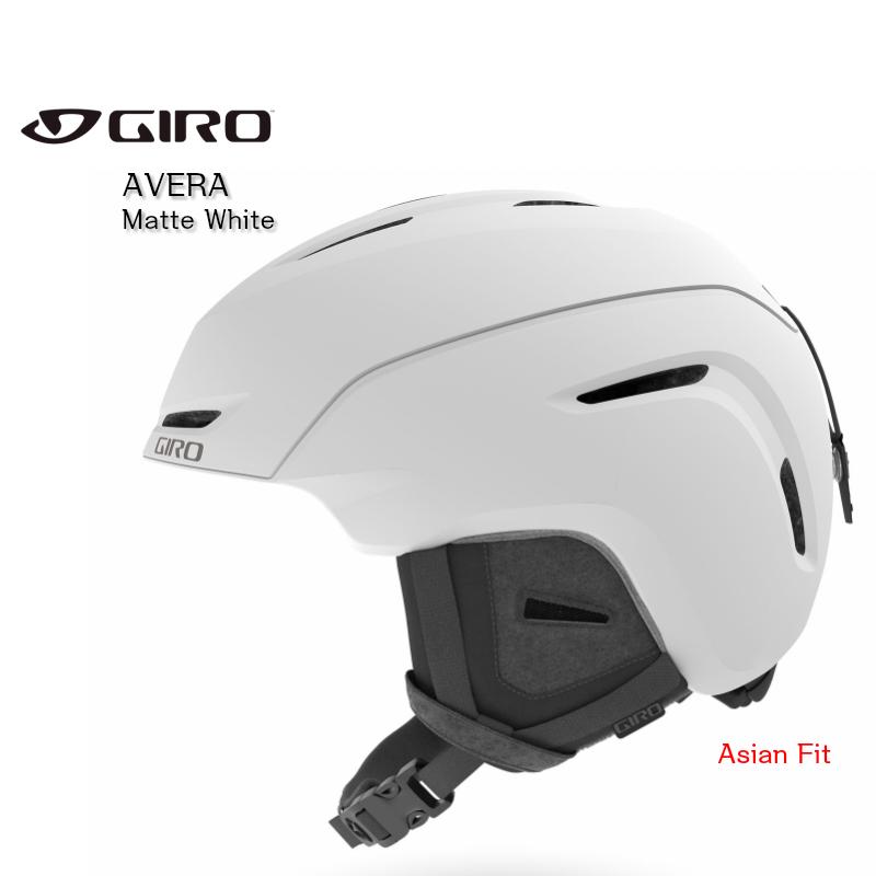 ジロ 2020 GIRO AVERA Matte White ジロ アベラ スノーヘルメット アジアンフィット