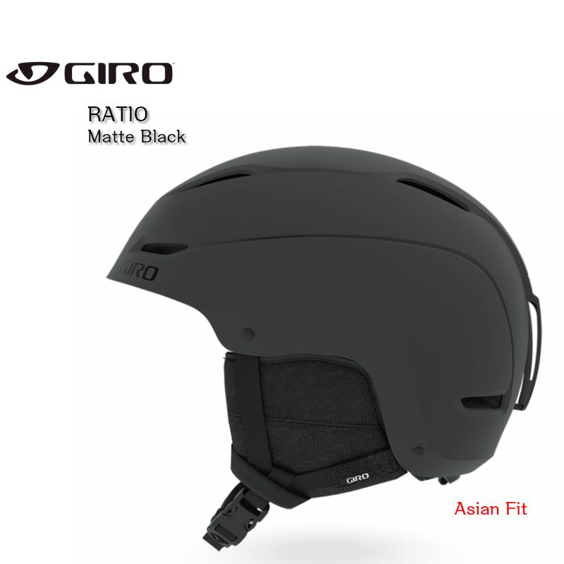 ジロ 2020 GIRO RATIO Matte Black ジロ レシオ スノーヘルメット アジアンフィット