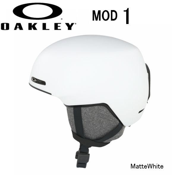 【お買物マラソン期間P5倍】2019 2020 OAKLEY MOD1 White AsianFit オークリー スノー ヘルメット スキー スノーボード