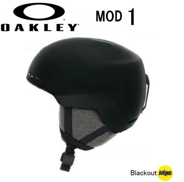 【お買物マラソン期間P5倍】2019 2020 OAKLEY MOD1 Blackout AsianFit MIPS オークリー スノー ヘルメット スキー スノーボード